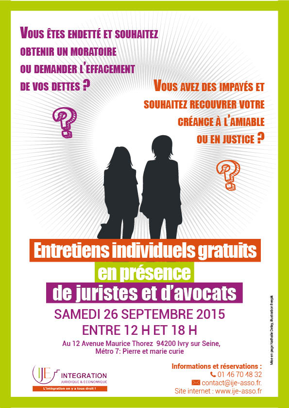 IJE- Consultations juridiques